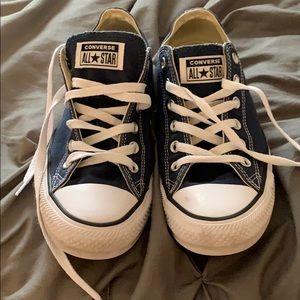 converse size 10 mens- navy